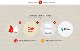 Custom tailored designs for your startup