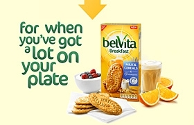 Kraft belVita Breakfast biscuits